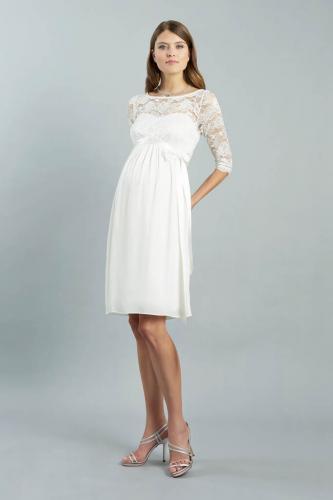 Kleid Arielle - kurz ivory 16 copy